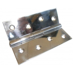 Stainless Steel Light Polished Butt Hinge