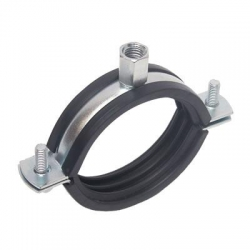 Channel Support System Rubber Lined Pipe Clamps, Unistrut Compatible