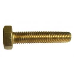 Brass Hexagon Set Screws DIN 933