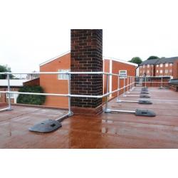 Defender Flat Roof Edge Protection Barrier