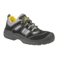 Trainer Black Safety Toe