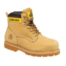 Tan Welted Safety Boot