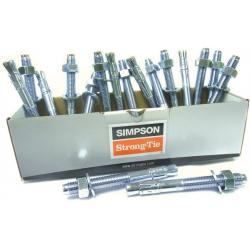 Simpson WA Throughbolt with Hex Nut, Sleeve & Washer
