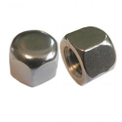 Cap Nuts, Steel Bright Zinc Plated DIN 917