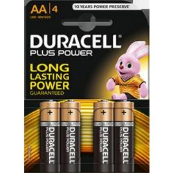 Duracell Plus Alkaline Batteries