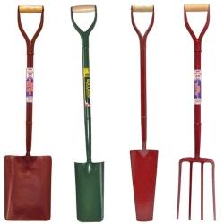 Shovels, Forks, Axes, Snow Scoop & Floor Scraper