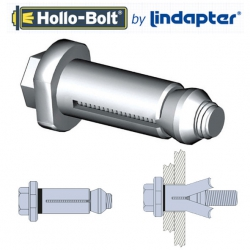 Lindapter Type HB Hollo-Bolts