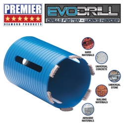 Premier Diamond P5-EDDC Dry Diamond Core Drill Bits