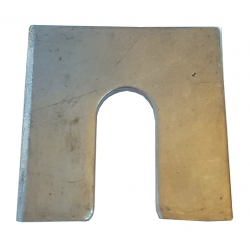 A4 316 Stainless Steel Metal Horseshoe Trouser Shims