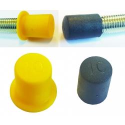 Push on Plastic Stud / Thread End Cover Caps