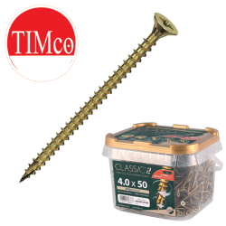 Timco C2 Woodscrews, Classic Multi-Purpose / Flooring & MDF Screws