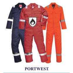 Portwest Premium Flame Resistant Coveralls