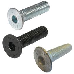 Socket Allen Countersunk Screws. Grade 10.9. DIN 7991