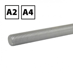Stainless Steel Studding (Threaded Rod) A2 & A4