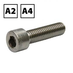 Stainless Steel Socket Cap Screw DIN 912 A2 & A4