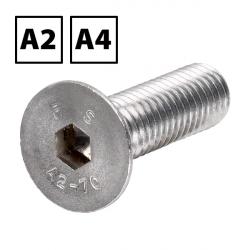 Stainless Steel Countersunk Socket Screws A2 DIN 7991