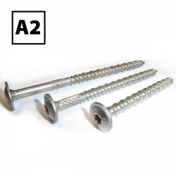 Stainless Steel Flange T40 Coach Solar Panel Screws A2 (304)
