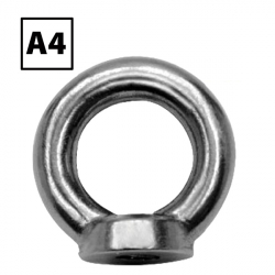 Stainless Steel Ring Nut DIN 582 A4