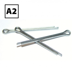 Stainless Steel Split Cotter Pins A2/304 DIN 94