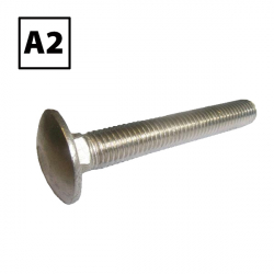 Stainless Steel Coach Bolts Only A2 (304)