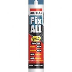 Soudal Fix All High Tack Adhesive White (Fixall) 290ml