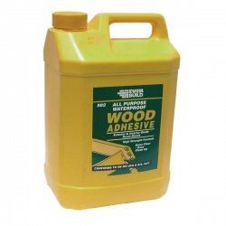 Everbuild 502 Waterproof Woodglue 5 Litre (collection / own van delivery only)