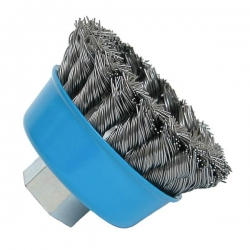 Bosch 75mm Knotted Wire Cup Brushes P/No. 1 608 622 029
