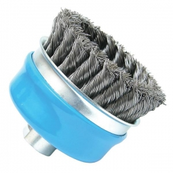 Bosch 90mm Knotted Wire Cup Brush P/No. 1 608 614 001