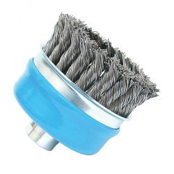 Bosch 100mm Knotted Wire Cup Brush P/No. 2 608 622 010