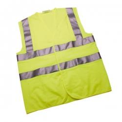 Hi-Vis Warning Waistcoat X-Large EN471 Class 2 Yellow