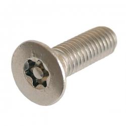 M4 x 12 Countersunk Socket Machine Screw Resistorx Stainless steel (A2 304) TX-20H