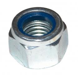 M16 Nyloc Nut Steel Bright Zinc Plated, Grade 8 DIN 982 Type P
