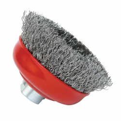 Bosch 100mm Crimped Wire Cup Brush P/No. 1 608 614 011