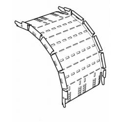 Cable Tray, Outside Riser Medium Return Flange 225mm, Pre-Galvanised