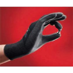 Black Latex Light Site Palm Gloves Size 9 Large (1 pair)