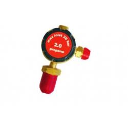 Plugged Propane Regulator (20 Bar)