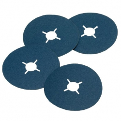 125x22mm 120 Grit Zirconia Fibre Sanding Disc