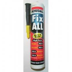Soudal Fix All High Tack Adhesive Black (Fixall) 290ml