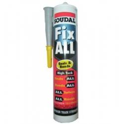Soudal Fix All High Tack Adhesive Grey (Fixall) 290ml