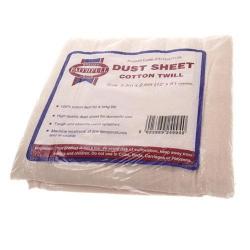Faithfull Cotton Twill Dust Sheet 12ft x 9ft