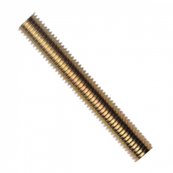 M4 x 1 Metre Long Studding Brass Self Colour (Threaded Rod)