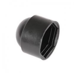 M24 (36mm) Nut & Bolt Cover Cap, Black Plastic Polyethylene