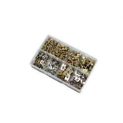 400pce 8-14g Acme Screws & J Nuts Kit. Zinc. Kitmaster KM105123
