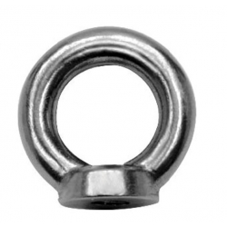 M6 Stainless Steel Ring Nut DIN 582 A4 (316)