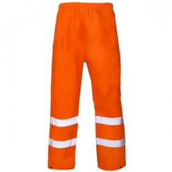 Large Hi-vis Orange Trousers