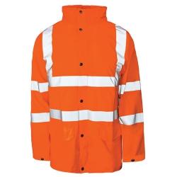 Hi-vis Parka Jacket Medium  EN471 Orange