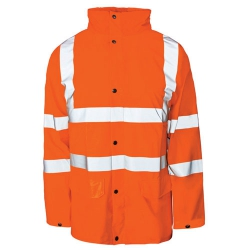 Hi-vis Parka Jacket X Large EN471 Orange