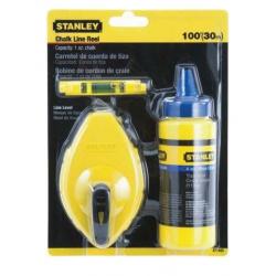 Stanley 30 Metre Chalk Line Kit 0-47-443