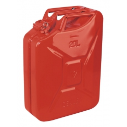 20 Litre Steel Jerry Can Red