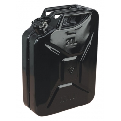 20 Litre Steel Jerry Can Black